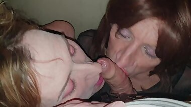 Mike Face Fucking Lisa and Sexy TGirl Gigi