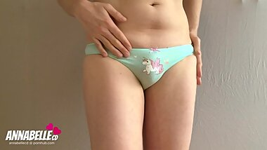 Horny Dutch Crossdresser TS Annabelle CD in Sexy Transsexual Sissy Slut Panties Parade #3