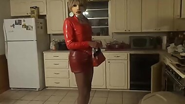 Christy in PVC
